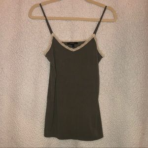 OLIVE GREEN CAMI